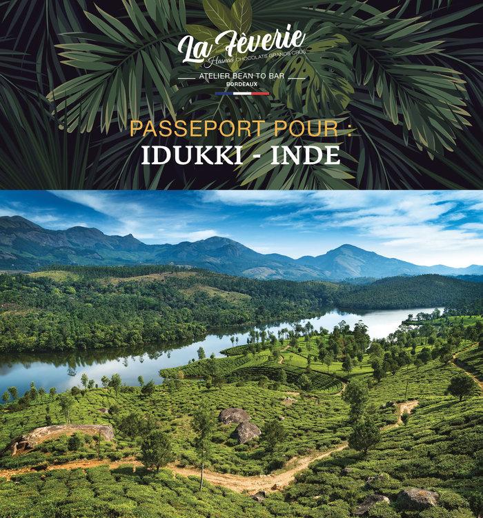 Origine du chocolat IDUKKI : Inde