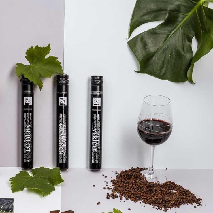 Illustration de l'article Ganaches aux vins de Bordeaux