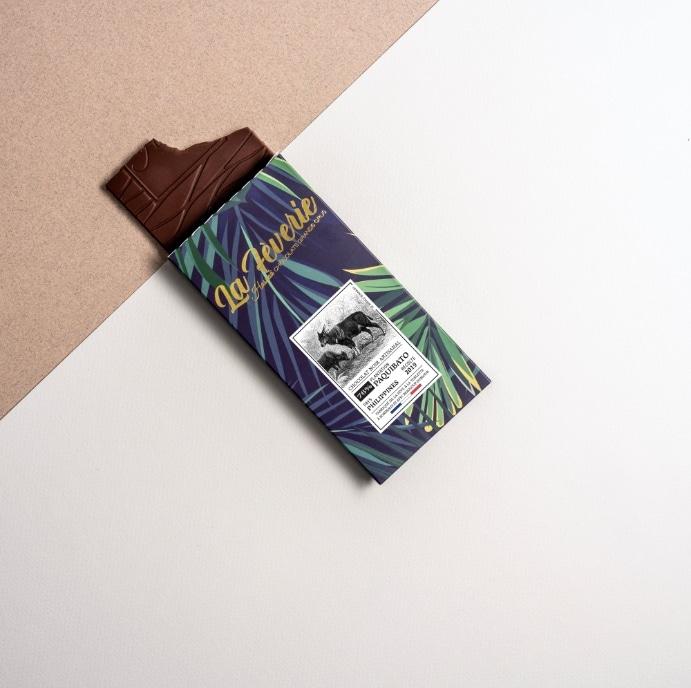 Tablette de chocolat Bean to Bar - Paquibato - Hasnaâ Chocolats